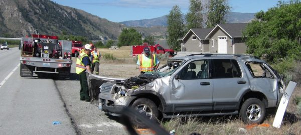 Suv Accident On Highway Results In Two With Serious Injuries