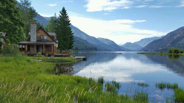 Cabin At The End Of The Lake Go Lake Chelan